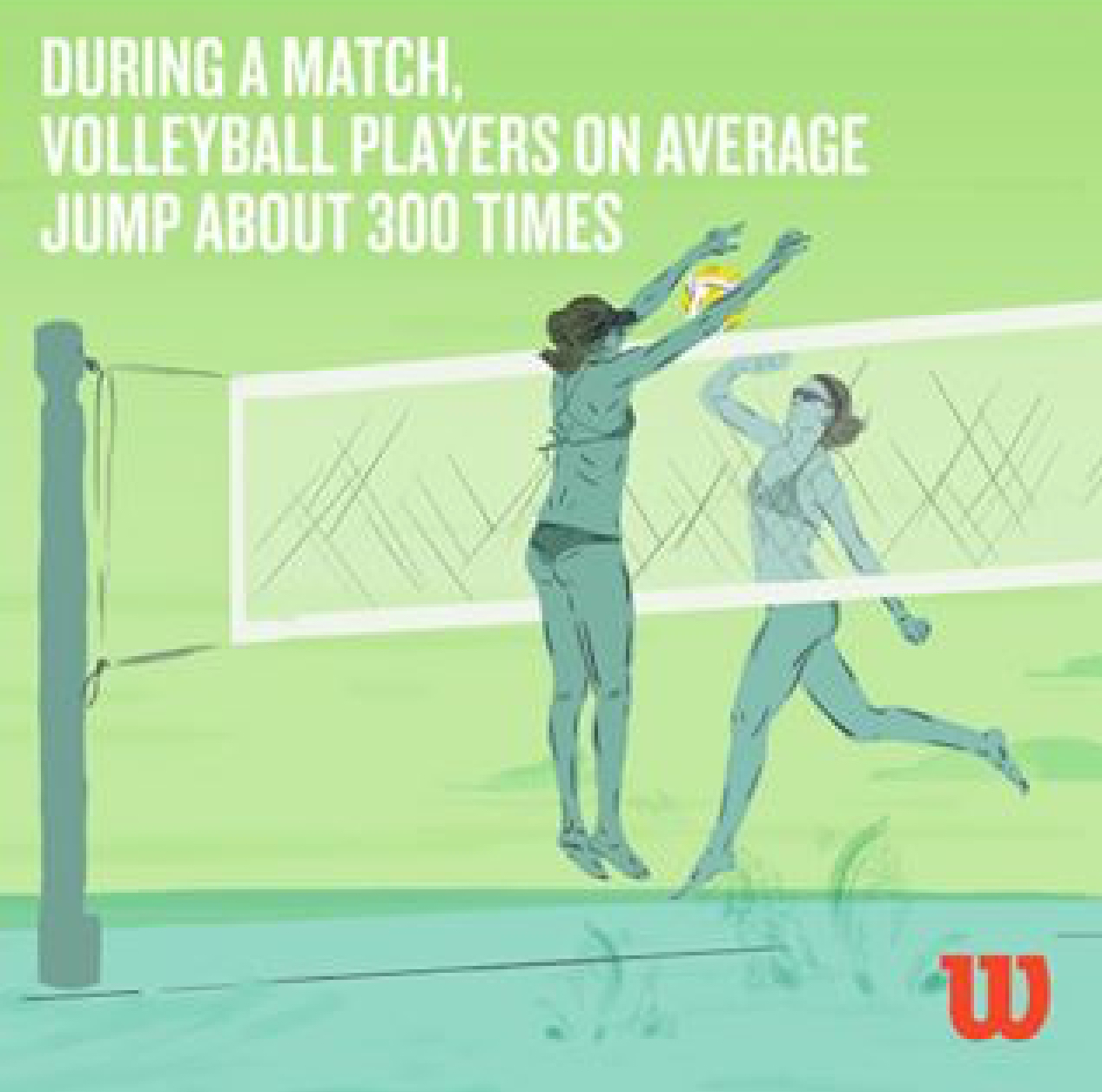 Wilson ad for 300 jumps